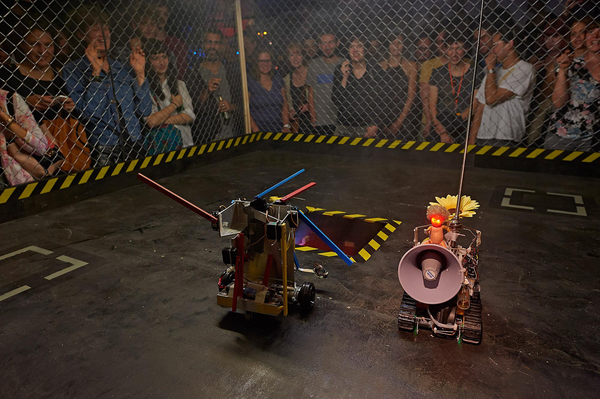 Terminator Tornament – The Robot Battle, Fighting Arena