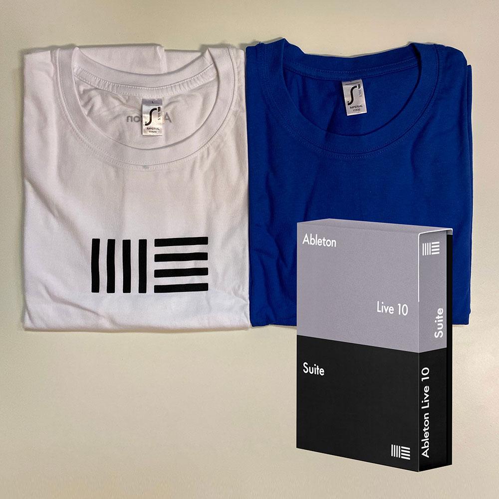 Ableton – Live 10 & T-Shirt