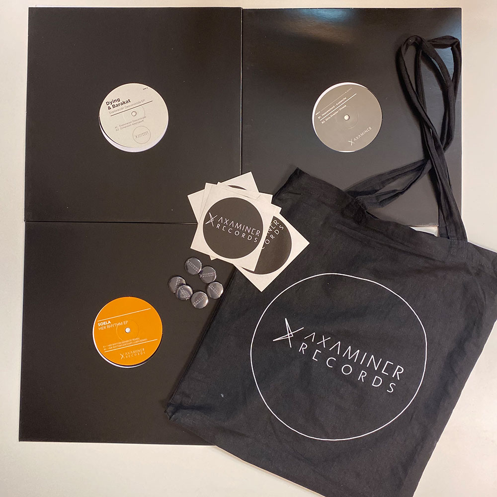 Axaminer Records Label Package