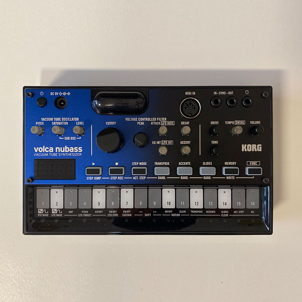 Korg – Volca Nubass Synthesizer
